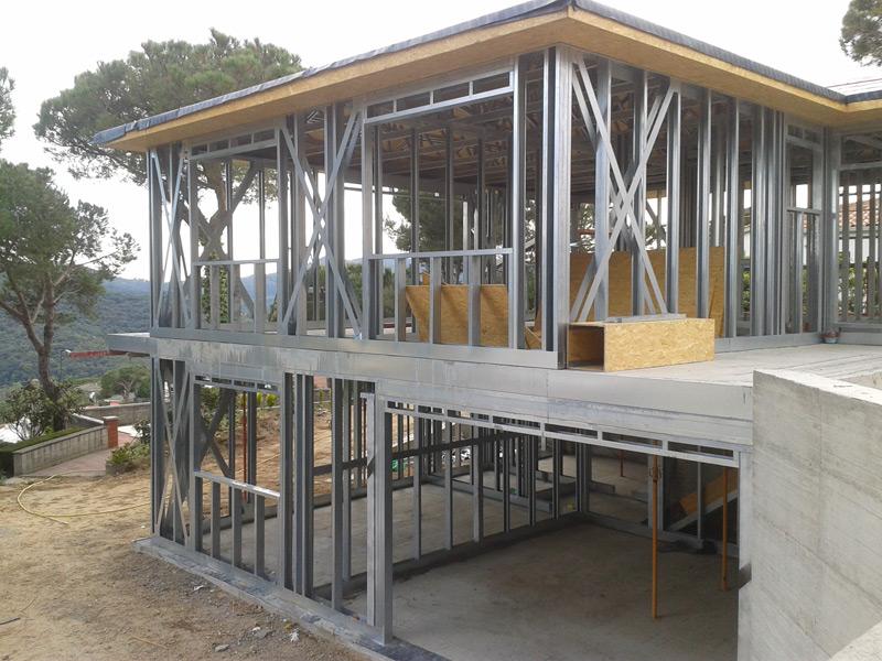 casas-en-acero-steel-frame-Eco-Steel Barcelona 001